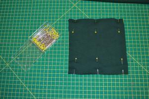 Schritt 2 - Tasche annähen