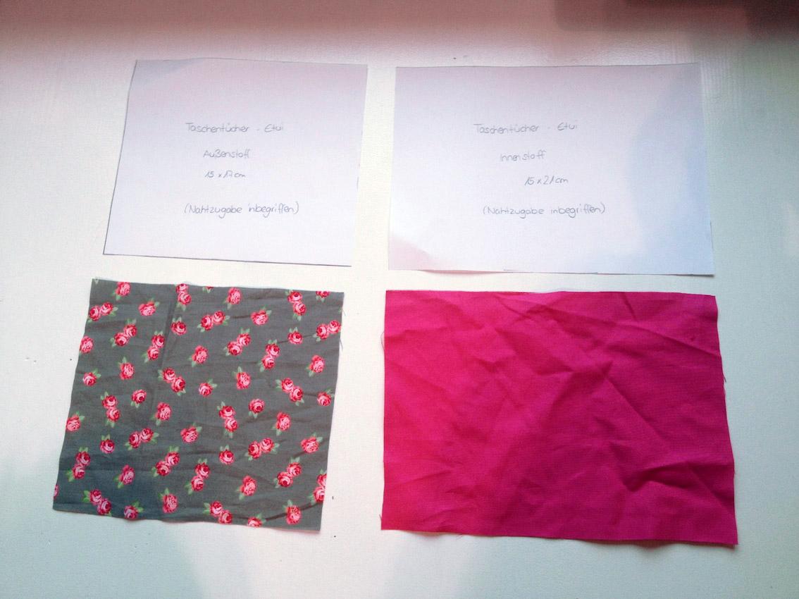 Wie näht man ein Taschentücher-Etui? - naehen.com