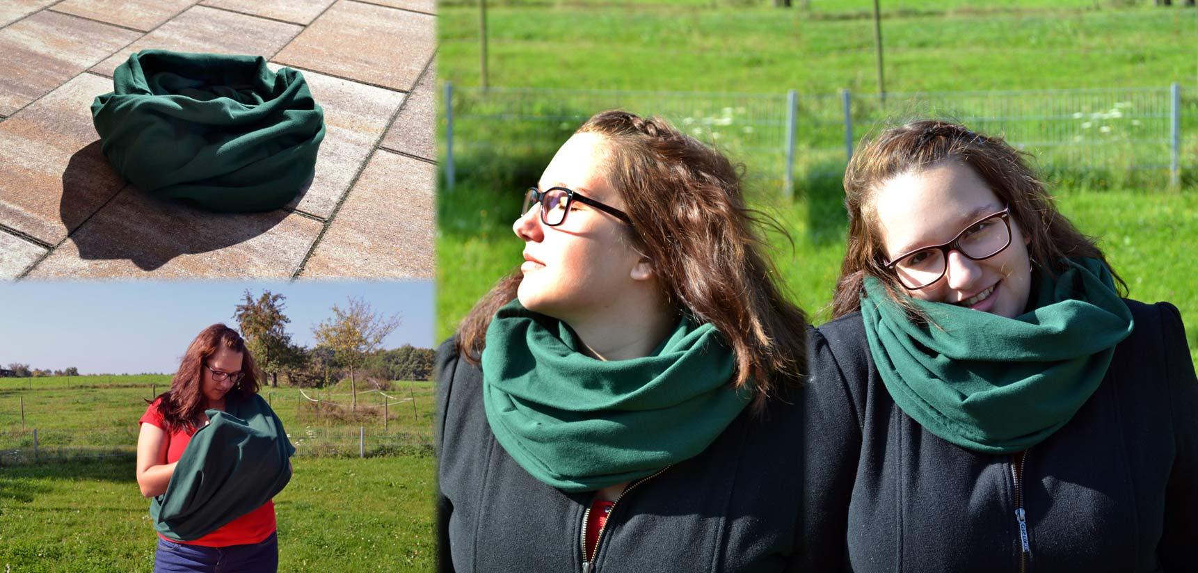 Der-Still-Loop - Kuschelweich für kalte Herbsttage und schützt vor fremden Blicken bei Stillen.