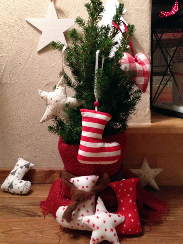 Fertig sind die weihnachtlichen Deko-Anhänger! ich wünsche euch viel Spaß beim Dekorieren!!