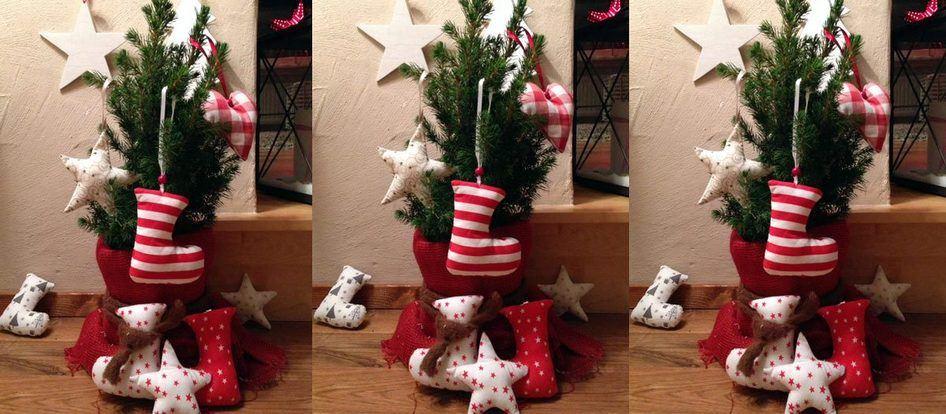 wie n ht man weihnachtliche deko anh nger. Black Bedroom Furniture Sets. Home Design Ideas