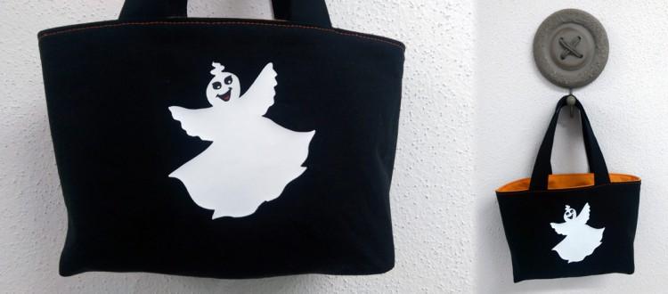 Wie näht man eine Tasche? – Halloween Edition