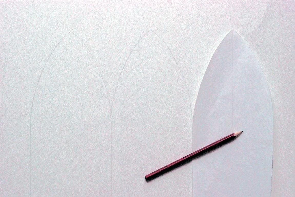 Beanie3 - Schnittmuster mithilfe einer Mütze zeichnen und ausschneiden